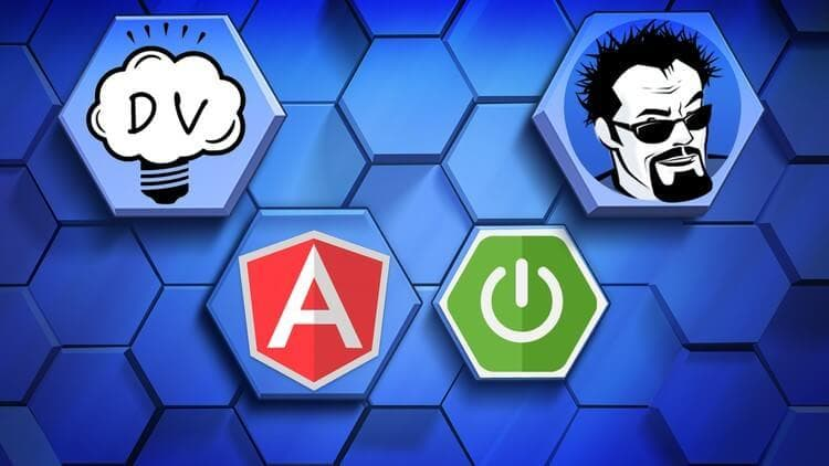 Angular 4 Java Developers Course Cover Image