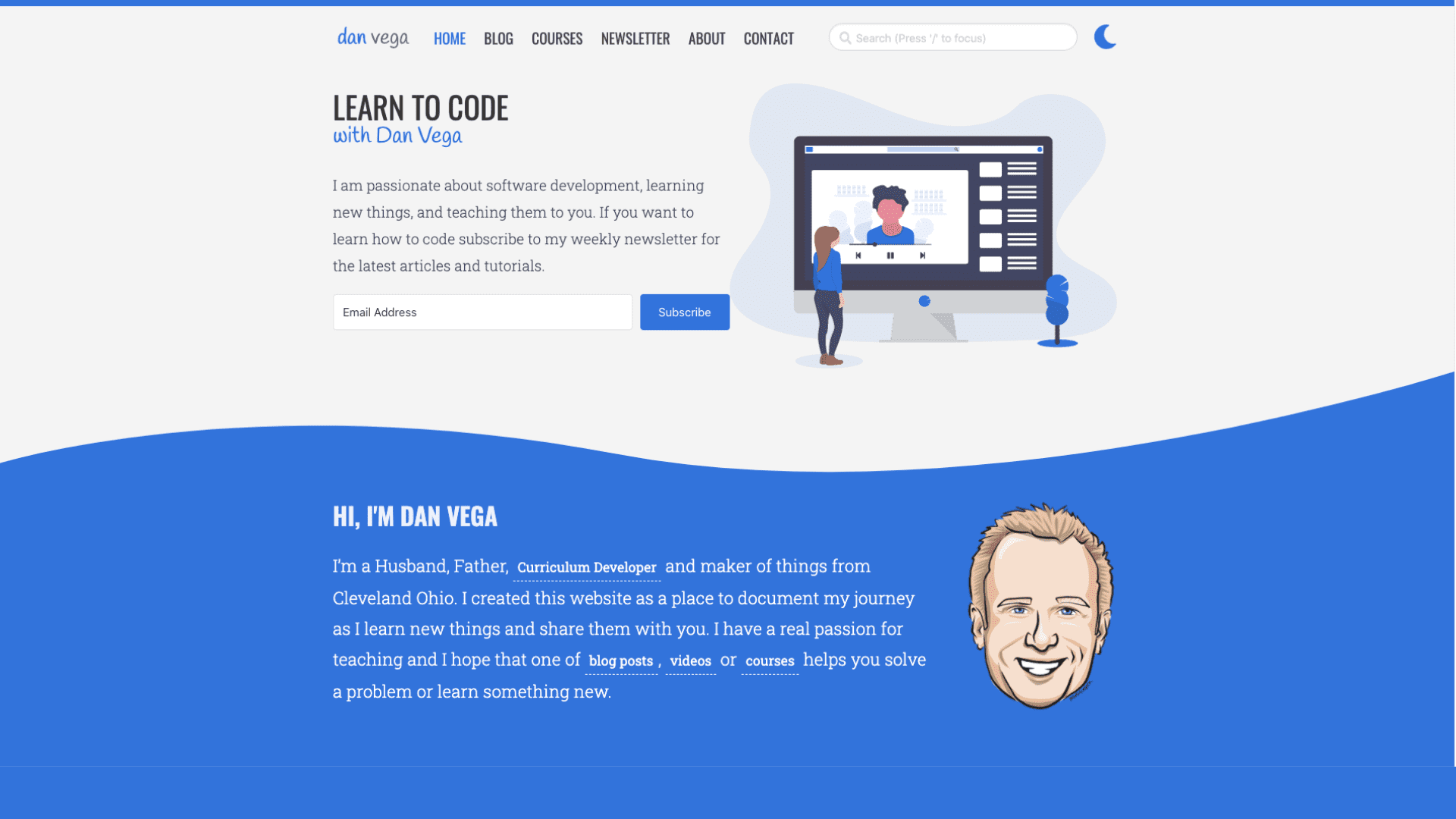 Lessons learned from redesigning my website